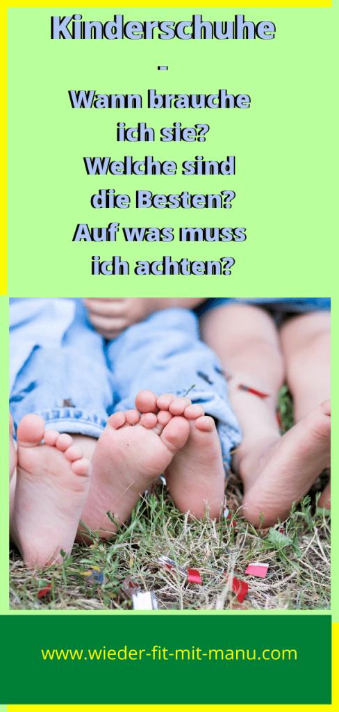 Kinderschuhe und kleine Füße beschäftigen Dich schon eine ganze Weile? Wann? Welche? Auf was Acht geben? Hier findest Du Antworten! #kinderschuhe #laufenlernen #laufenlernenfördern
