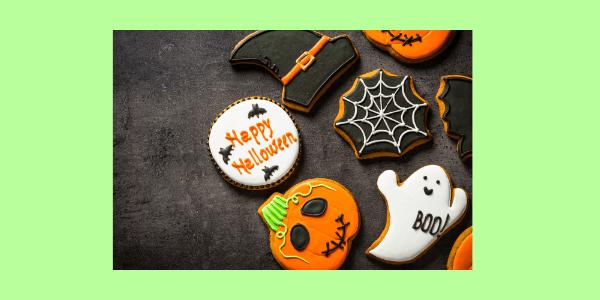 Halloween Hafer Kekse schmecken nicht nur im Oktober. Kekse, aus gesunden Zutaten, die Du ohne schlechtes Gewissen naschen kannst. Rezept.