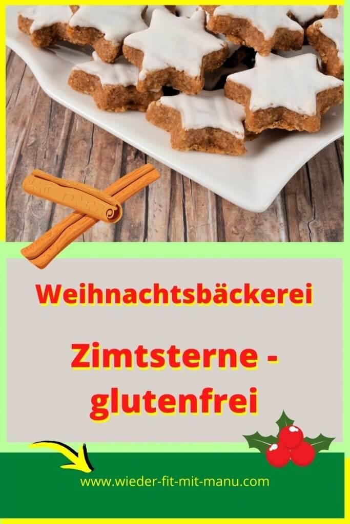 Zimtsterne - Weihnachten kommt, für mich gibt es nix besseren, als selber Plätzchen zu backen. Hier mein Rezept zu glutenfreien Zimtsternen.